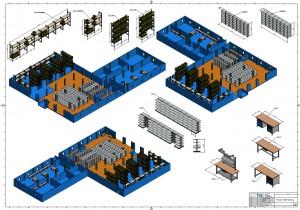3D Zeichnung Beispiel Objektplanung