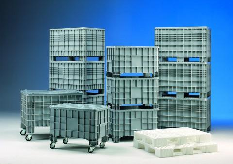 Kunststoffpaletten- und Container