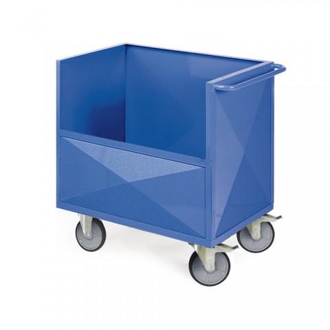 Draht-, Blechkasten und Schrankwagen